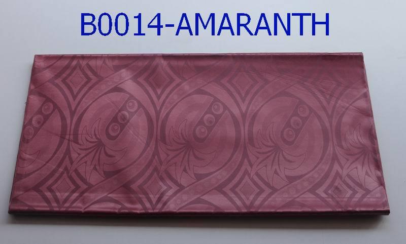 High quality printed polyester fabric african guinea brocade B0014 amaranth(China (Mainland))