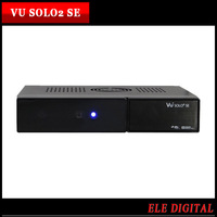 1 pc/lot dhl free IN STOCK !!!  New upgrade Satellite Receiver Vu Solo2 Se Vu Solo 2 Se Vu+ Solo2 se 1300mhz DVB-S2 Twin Tuner