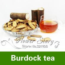 100 g de bardana raiz chá chinês chá da saúde orgânica anti envelhecimento toxina row hipoglicêmico especial herb grátis frete(China (Mainland))