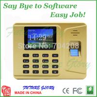 Easy Cheap Fingerprint Time Attendance Time Clock Self Attendance Report