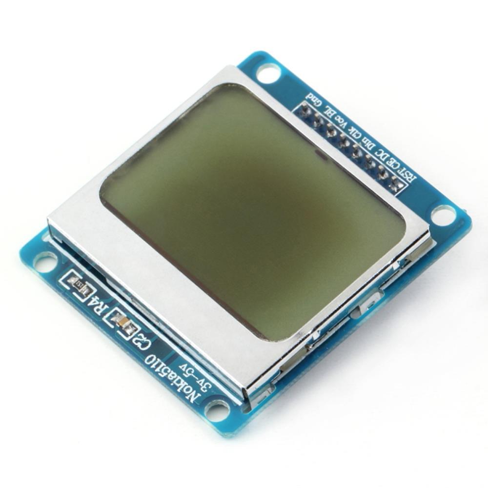 1pcs alta qualidade 84 * 48 x 84 84 branco de módulo de LCD backlight adaptador PCB para Nokia 5110 para Arduino por atacado