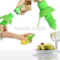 2015 Hot Sale  Fruit Citrus,Hand Juicer Plastic Lemon,Juice Maker Juicer Kitchen Tool,Squeezer Sprayer Great Kitchen helper