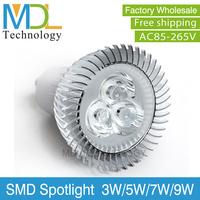 3W High Power LED Spotlight Bulbs E27 GU10 E14 GU5.3 Base Lamp LED Bulbs 50000H Lifespan New Arrivals Hot Sale MDLSP-4
