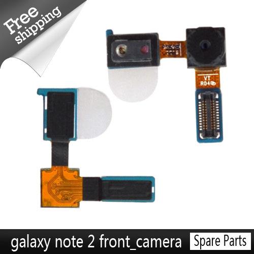 1pcs/lot Original Front Facing Camera small camera for Samsung Galaxy Note 2 II N7100 N7105 i317 free shipping(China (Mainland))