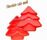 DIY Chocolates Eco-Friendly Food-grade Silicone Cake Mold Originality Convenient New Creative Trends Christmas Tree Cake Tools