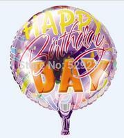 Free Shipping~ 10pcs/lot 18 inch Wholesale helium balloon/ happy birthday balloon