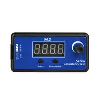 NEW HJ 1-4 Servo Consistency Test LCD Digital Multifunction ESC Automatic Tester Meter