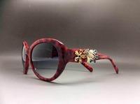 Women fashion design diamond sequins embellished sunglasses glasses