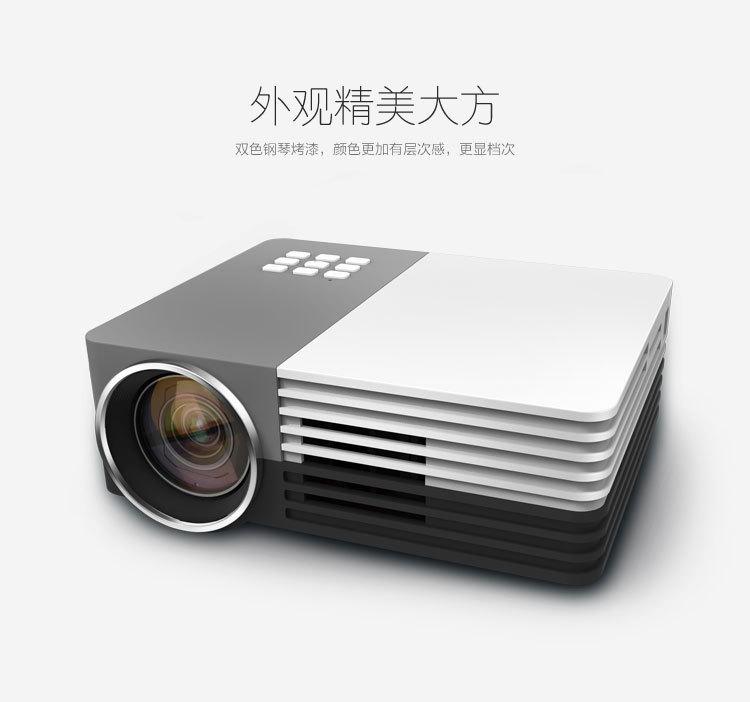 Проектор GM50 LED 3d HDMI AV/USB/SD/VGA проектор tv hd hdmi led av vga usb sd v576