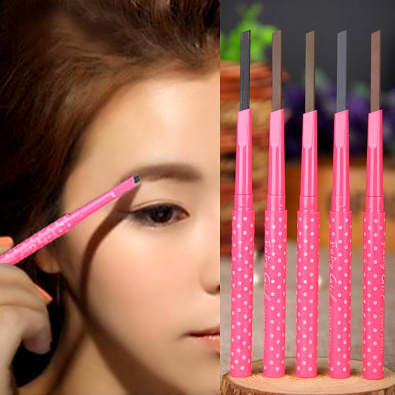 Waterproof Dark Brown Eyebrow Pencil Eye Brow Liner Powder Shapper Makeup Tool#M01192(China (Mainland))