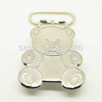 Hot selling 50pcs/lot,teddy bear panda shape suspender clips,Wholesale Suspender Clip,Suspender Clips Suppliers & Manufacturers