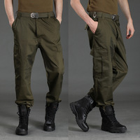 men's outdoor camouflage pants male tactical military G8 jungle hiking safaris full lengh Trousers
