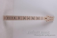 1  pcs high quality  electric guitar neck   maple  made  and maple fingerboard