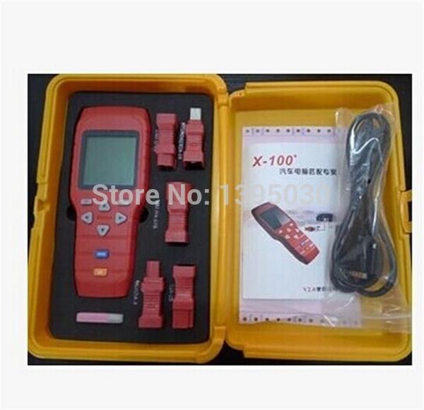 1 pc x100 programador chave dispositivo portátil promessa X 100 programador X-100 programador chave grátis frete por DHL(China (Mainland))