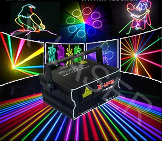 5W RGB Animation Laser Light Christmas light LOGO