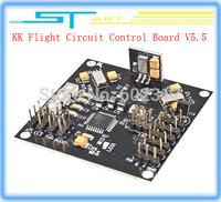 DIY KK Multicopter Quadcopter Hexacopter Flight Circuit Control Board V5.5 USBasp programmer speed controller Board+4