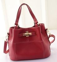 2015 New woman bag fashion brand 4 colors Platinum wave bag lady bag shoulder handbag trade baodan women messenger bags