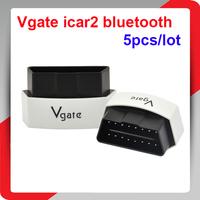 5PCS/LOT Elm 327 Vgate Bluetooth iCar 3 OBDII ELM327 iCar3 Bluetooth Vgate OBD2 Diagnostic Interface