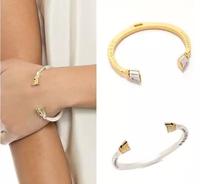 Occident Style Fashion Brand Letter Bracelet Personality Punk Horseshoe Bracelets & Bangles For Women