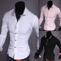 New 2015 Spring Autumn Cotton Dress Shirts High Quality Mens Casual Shirt, UC807
