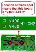 "V460H1-CH2, V400 V460CH1-CH2 , V400 / V460H1-CH2 T-con BOARD only  for 46"" pannel"