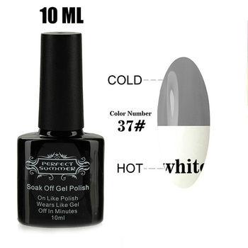 Высокое качество длительный выдерживает с из светодиодов уф гель лак для ногтей изменение температуры ногтей гель 10 мл DIY ногтей