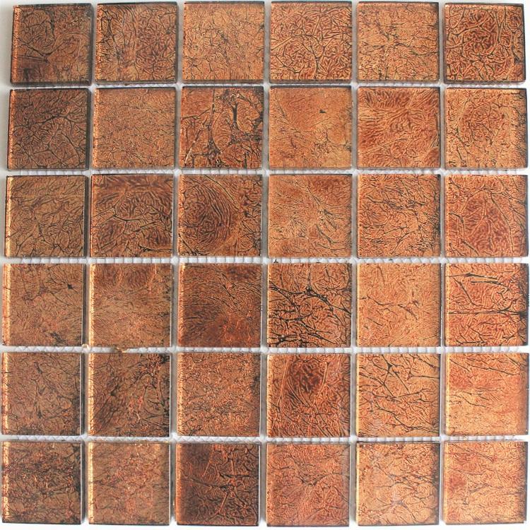Mixed Gold Mirror Interior Wall Glass Mosaic Tile(China (Mainland))