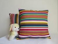 Red striped cotton pillow car cushion sofa cushion pillow cover cushion covers