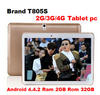 new 10.5 inch T805s tablet MT6952 Octa Core Tablet PC 3G 4G Phone Call 2560x1600 IPS 13.0MP Camera Ram 2GB Rom32GB Android 4.4.2
