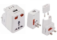 Worldwide Usb Travel Adaptor/Charger Plug - Works in over 175 countries
