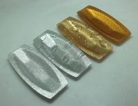 Hotel/restaurants large acrylic tray golden acrylic tissue paper/towel trays Storage Trays 4pcs/set