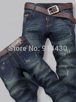 2015 New Arrival Mens Jeans Straight Style Designer Jeans Men Brand