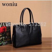 Free shipping 100% genuine leather , 2015 new European and American atmospheric handbag leather handbag diagonal package