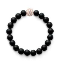 Hot Fashion Bracelet Diy Handmade High Quality Frosted Beads Bracelets for Women Men Jewelry Pulseiras Feminina Free Shipping