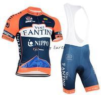 New arrive! Fantini 2015 short sleeve cycling jersey bib shorts bike bicycle wear clothes jersey pants,gel pad,free shipping!