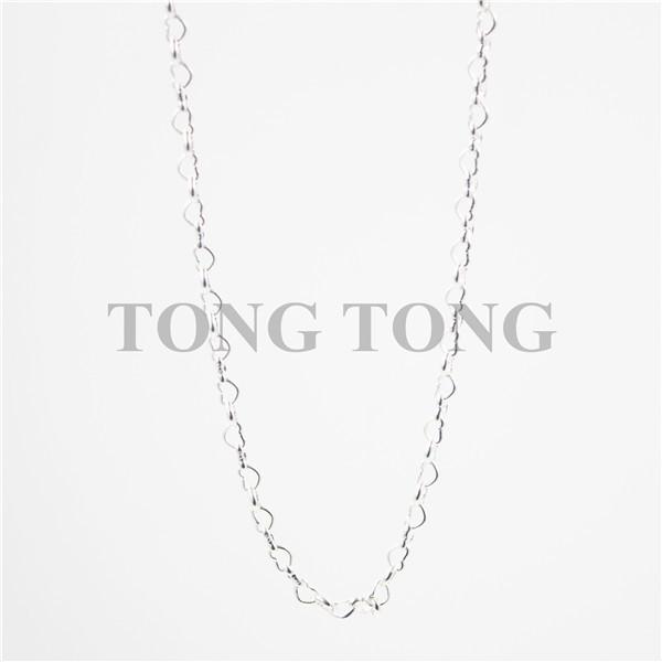 30'' Silver-plated Heart Lanyard Chain(Buy Lanyard/Lanyard Locket, Free Matching Lanyard Chain)(China (Mainland))