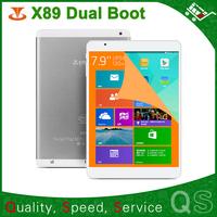 Original 7.9 inch Teclast X89 Dual Boot Windows 8.1 & Android 4.4 Intel  Trail-T Z3735F Tablet PC  IPS Screen 2048X1536 2GB/32GB