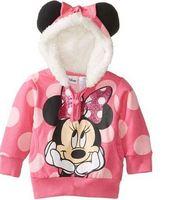 Free shipping children hoodies clothing cotton girls swetaer baby hoody wholesale and retail cartoon YCZ045