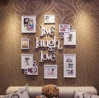 10pcs/lot  Modern art decor combination photo frame home decoration wall frame picture frame 123x103cm