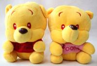 job Lots new styles 2pcs Bear Soft Plush Stuffed doll Toy for wholesale