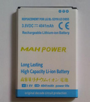 free shipping BL-53YH 3800mAh High Capacity Gold Business Battery for LG G3 / D855 / VS985 / D830 / D851 / F400 / D850