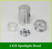 DIY LED Lighting Accessories / Spotlight / Mirror Lights Lamp Head 8MM Connecoter Hole 1W Lens Base Plate 10PCS