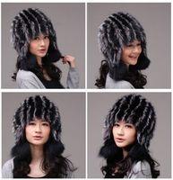 Winter Hat Real Fox Fur Hat Russian Ushanka Cossack Women Beanie HC 008 1