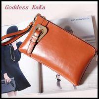 2015 New Women Leather Handbags Fashion Designer Handbag Genuine Leather Handbag Candy Small Bags Real Leather Clutch CH018
