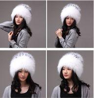 Winter Hat Real Fox Fur Hat Russian Ushanka Cossack Women Beanie HC 014 1