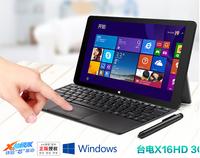 Original  Teclast X16HD 3G Phone call Tablet PC Duat Boot Windows 8.1+Android 4.4 Intel Z3736F Quad Core 1920*1080 OTG 10.6inch
