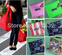 2015 new shopping bag Eco-friendly Japan Baggu eco folding storage grocery kitchen bags reusable folding handle carry Bag