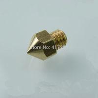 1 piece Reprap Makerbot MK8 Copper 0.5mm Printer Nozzle For 1.75mm Filament 3D Printer Hot End Nozzle