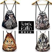 2015 Hot ! NewFashion Women Printing Backpack Floral Printed Canvas Vintage Original Animal Woman Bags Travel Duffel Bag