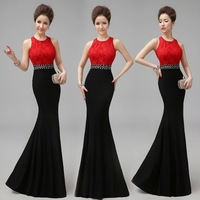 2015 formal dress fashion long design slim evening dress dinner party wedding prom dress gown vestido de festa celebrity dresses